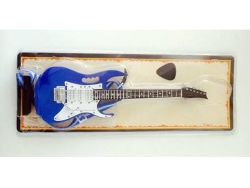 Miniatura de Guitarra Ibanez JEM - Azul - (Blister) - 1:4