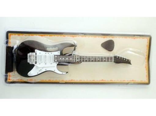 Miniatura de Guitarra Ibanez JEM - Preta - (Blister) - 1:4