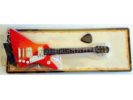Miniatura de Guitarra Explorer - Vermelha - (Blister) - 1:4