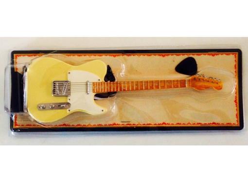 Miniatura de Guitarra Telecaster - Amarela - (Blister) - 1:4