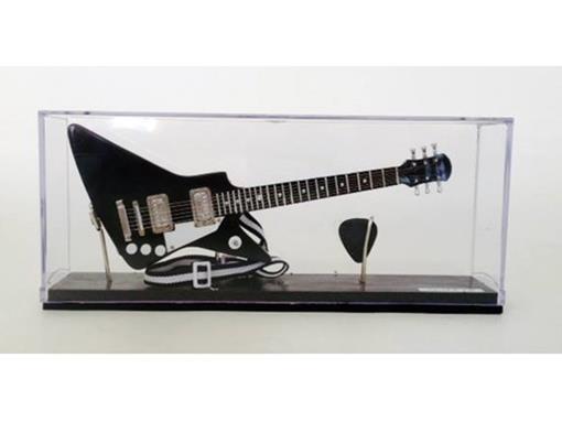 Miniatura de Guitarra Explorer - Preta - (Acrílico) - 1:4