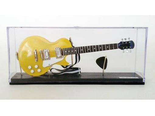 Miniatura de Guitarra Les Paul - Dourada - (Acrílico) - 1:4