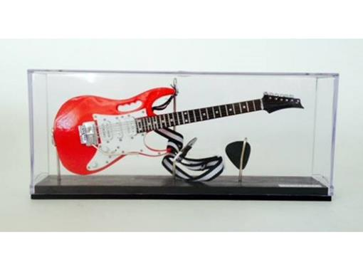 Miniatura de Guitarra Ibanez JEM - Vermelha - (Acrílico) - 1:4