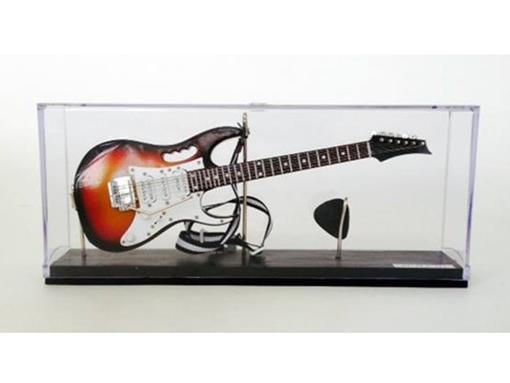 Miniatura de Guitarra Ibanez JEM - Sun Burst - (Acrílico) - 1:4
