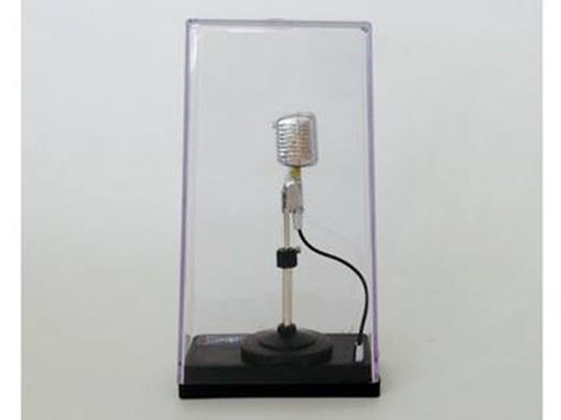 Miniatura de Microfone dos anos 60 - (Acrílico) - 1:4