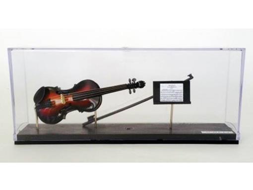 Miniatura de Violino + Partitura - Sun Burst - (Acrílico) - 1:4