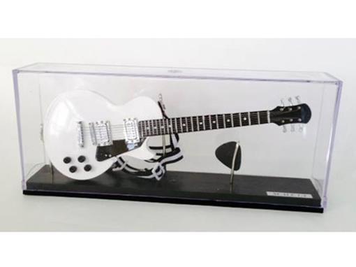 Miniatura de Guitarra Les Paul - Branca - (Acrílico) - 1:4
