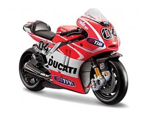 Ducati: Desmosedici - A. Dovizioso #04 - MotoGP 2013 - 1:18