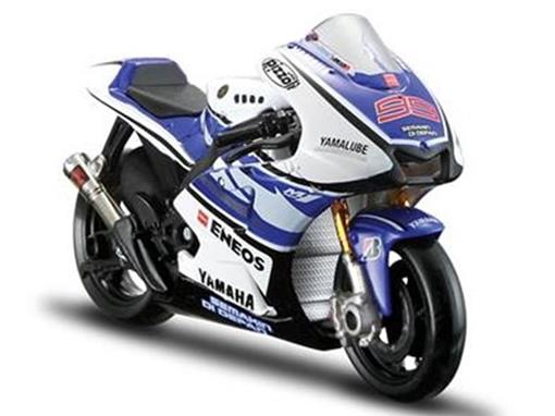 Yamaha: YZR-M1 - Jorge Lorenzo #99 - MotoGP 2012 - 1:18