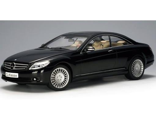 Mercedes-Benz: Cl-Klass (2006) - Preta - 1:18