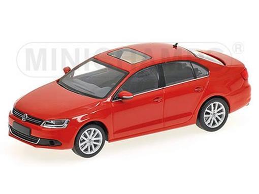 Volkswagen: Jetta (2010) - Vermelho - 1:43