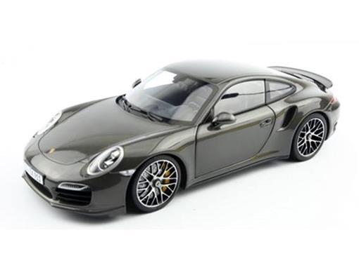 Porsche: 911 Turbo S - Grafite - 1:18