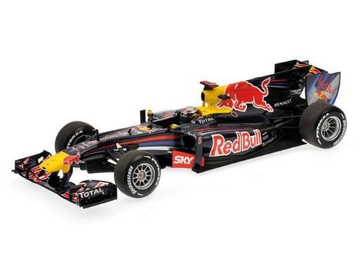Red Bull Racing: Renault RB6 S. Vettel (Brazilian GP 2010) 1:18