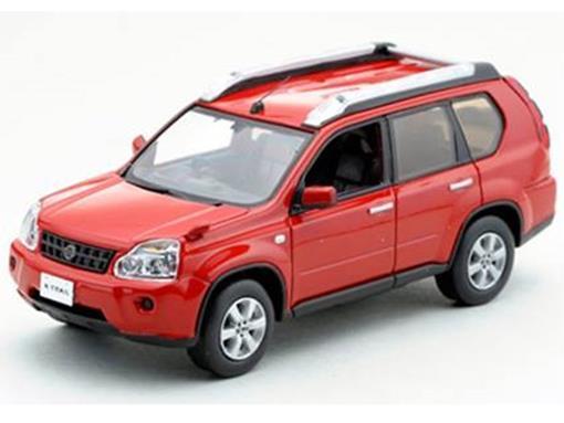 Nissan: X-Trail T31 (2007) - Vermelho - 1:43