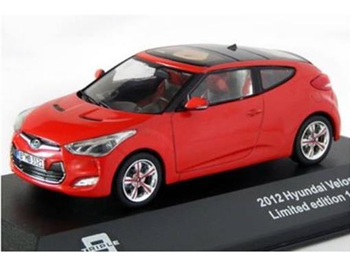 Hyundai: Veloster (2012) - Vermelho - 1:43