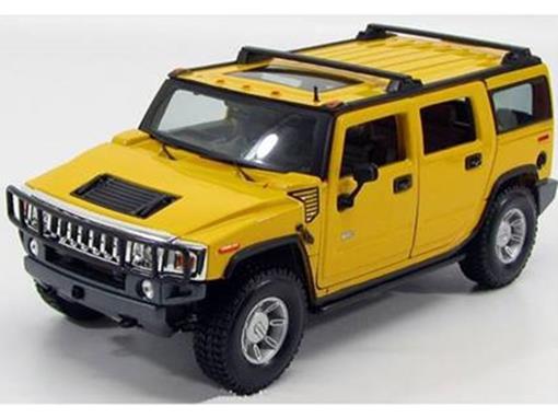 Hummer: H2 SUV (2003) - Amarelo - 1:18