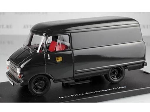 Opel: Blitz Kastenwagen A-1960 - Preto - 1:43