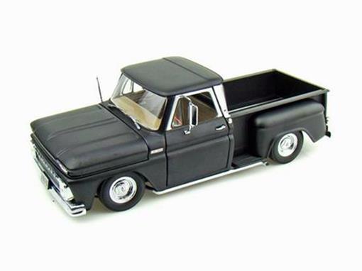 Chevrolet: Pickup C-10 Stepside Low Rider (1965) - Preta - 1:18