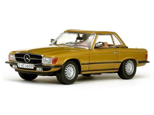 Mercedes-Benz: 350SL Hard Top Coupe (1977) - Dourado - 1:18