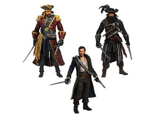 Set: Golden Age Piracy 3 Pack - Assassin's Creed - McFarlane