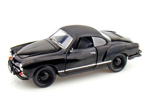 Volkswagen: Karmann Ghia (1966) - Black Bandit  - 1:18