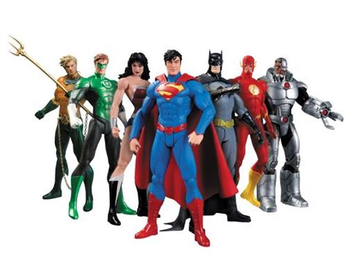Set: Liga da Justiça (Justice League) New 52 - 7 Pack