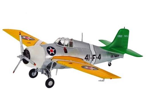 Grumman:  F4F Wildcat (1941) - 1:72 - Easy Model