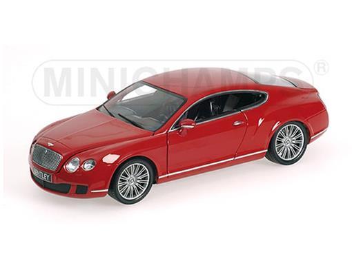 Bentley: Continental GT (2008) - Vermelho - 1:18