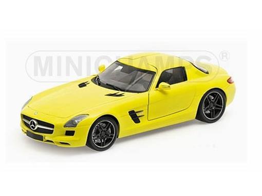Mercedes Benz: SLS AMG (2010) - Amarela - 1:18
