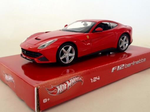 Ferrari: F12 Berlinetta - Vermelha - 1:24