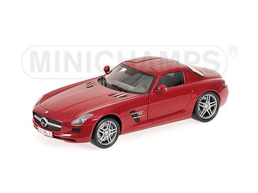 Mercedes Benz: SLS AMG (2010) - Vermelho Metálico