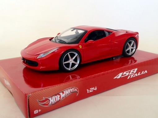 Ferrari: 458 Italia - Vermelha - 1:24