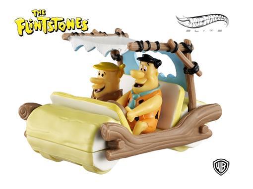 The Flintmobile - Carros dos Flintstones c/ Figuras - 1:50