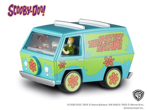 The Mystery Machine - Carro do Scooby Doo! c/ Figuras - 1:50