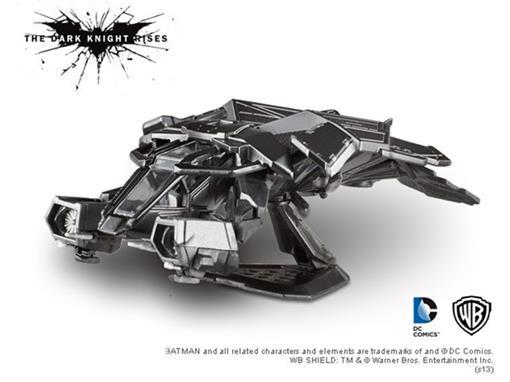 Aeronave The Bat -  Batman Dark Knight Rises - 1:50