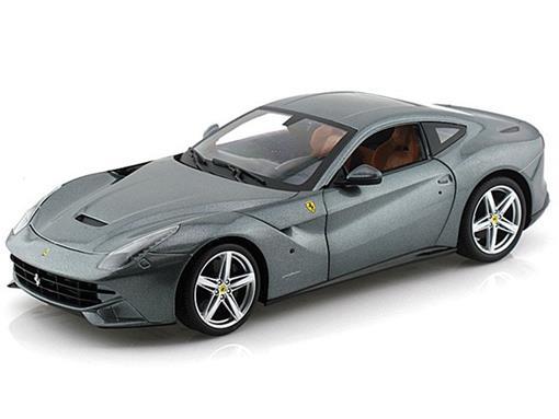 Ferrari: F12 Berlinetta (2012) - Cinza Metálico - 1:18