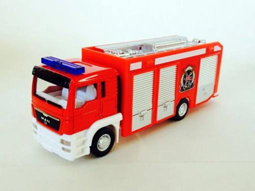 Man: TGS - Bombeiros – California Junior Truck - 14 cm