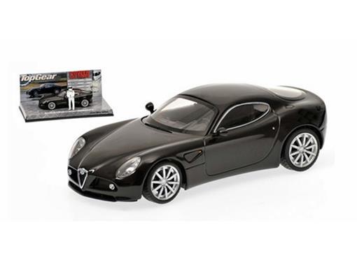 Alfa Romeo: 8C Competizione - Top Gear - Preto - 1:43