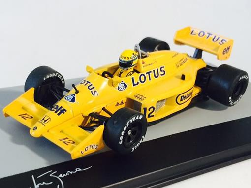 Lotus: 99T - Ayrton Senna - GP Mônaco 1987 - 1:43