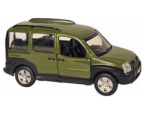 Fiat: Doblo - Verde - 11 cm