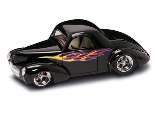Ford: Willys Coupe (1941) - Preto - 1:18