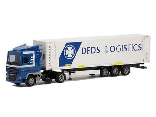 DAF XF 105 45´Kühl-Container