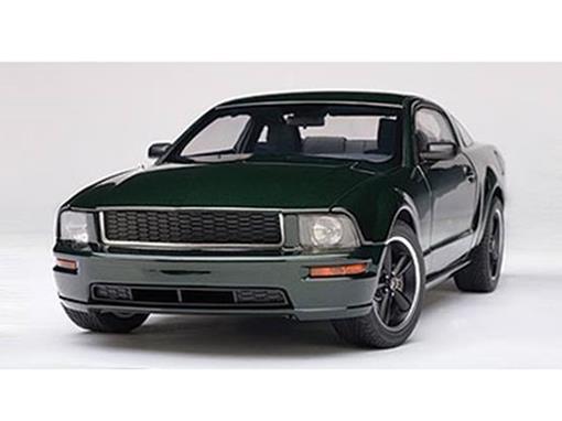 Ford: Mustang Bullitt GT (2008) - Verde - 1:18