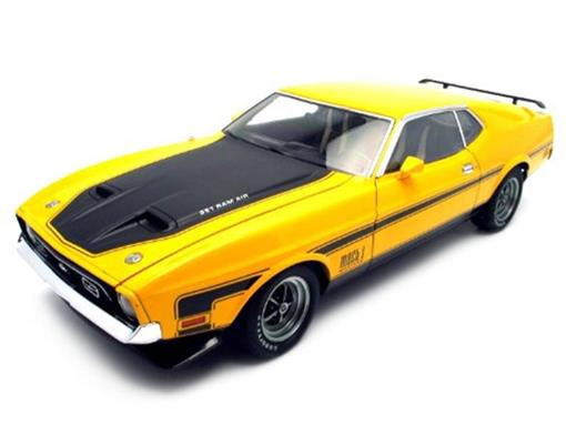 Ford: Mustang Mach I - Amarelo - 1:18