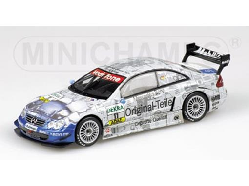 Mercedes Benz: CLK Coupé Team Teile/T. Jager - DTM 2003 - 1:43