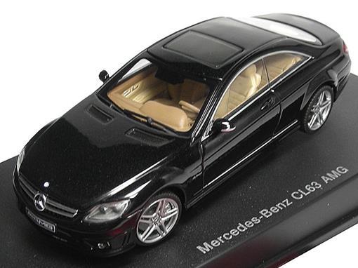 Mercedes Benz: CL63 AMG - Preta - 1:43