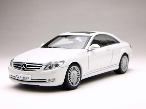 Mercedes Benz: CL Klasse Coupe - Branco - 1:43