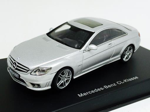 Mercedes Benz: CL Klasse Coupe - Prata - 1:43 - Autoart