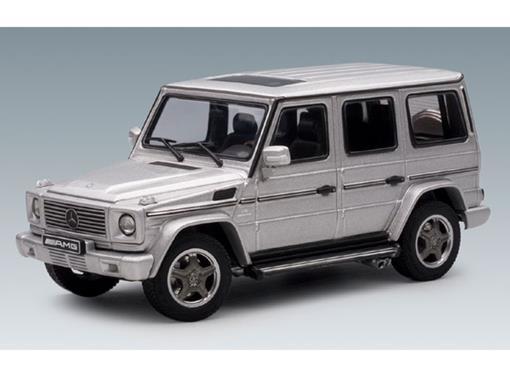 Mercedes Benz: G55 AMG - Prata - 1:43