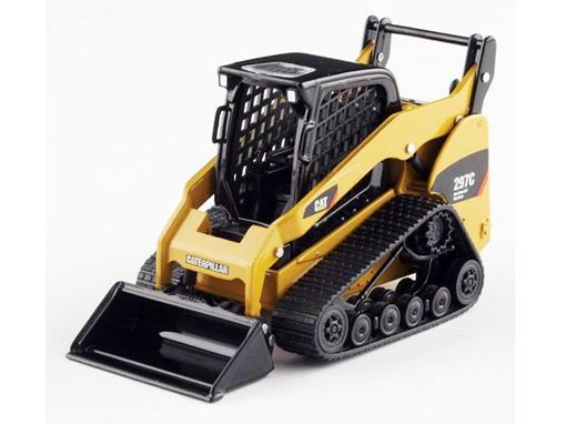 Caterpillar: Mini Carregadeira 297C Multi Terrain Loader - 1:32 - Norscot